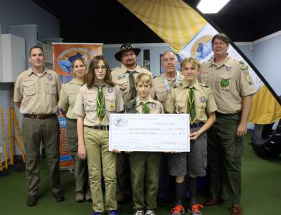 Boy Scouts Troop 836