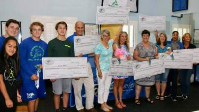 Congratulations to the eight Charities who received their awards in a ceremony at Oceanside Physical Therapy